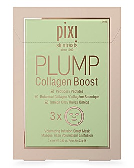 Pixi PLUMP Collagen Boost Sheet Masks