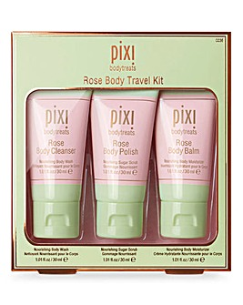 Pixi Rose Body Travel Kit