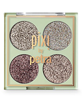 Pixi Glitter-y Eye Quad - GoldLava