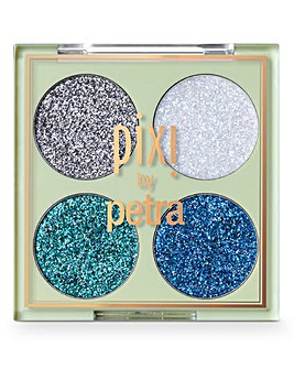 Pixi Glitter-y Eye Quad - BluePearl