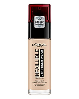 L'Oreal Paris Infallible 24hr Freshwear Liquid Foundation 15 Porcelain
