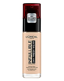 L'Oreal Paris Infallible 24hr Freshwear Liquid Foundation 20 Ivory
