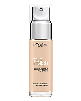 L'Oreal True Match Liquid Foundation With Hyaluronic Acid 0.5N Porcelain