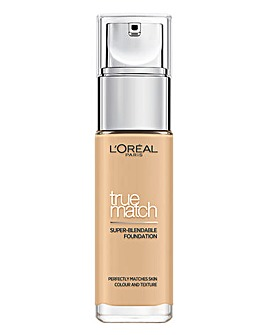 L'Oreal True Match Liquid Foundation With Hyaluronic Acid 2W Golden Almond