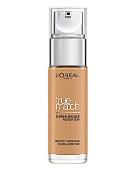 L'Oreal True Match Liquid Foundation With Hyaluronic Acid 5.5W Golden Sun