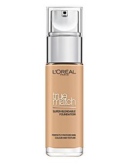 L'Oreal Paris True Match Liquid Foundation 30ml 3.5N Peach