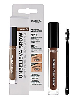 L'Oreal Paris Unbelieva'brow Long-Lasting Brow Gel 105 Brunette
