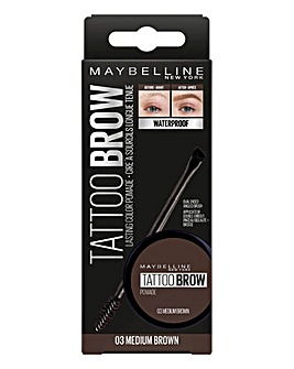 Maybelline Tattoo Brow Pomade Med Brown