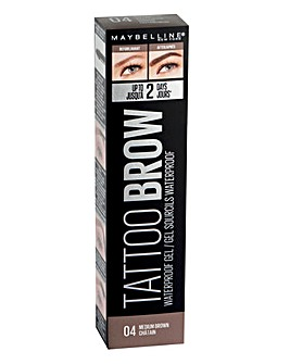 Maybelline Tattoo Brow Waterproof Gel - 04 Medium Brown