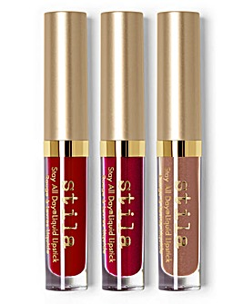 Stila Kiss Me Stila Stay All Day Liquid Lipstick Set
