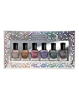 Deborah Lippmann Liquid Metal 6 Piece Nail Polish Set