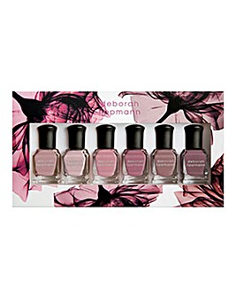 Deborah Lippmann Bed Of Roses 6 Piece Nail Polish Set