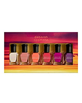 Deborah Lippmann Sunrise Sunset 6 Piece Nail Polish Set