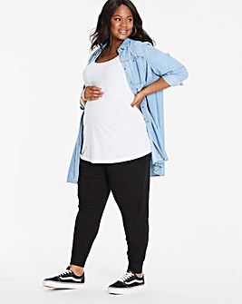 Maternity Jersey Harem Trousers