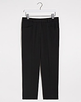 Black Meghan Everyday CigaretteTrousers