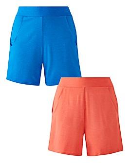 2PKStretch Jersey Shorts