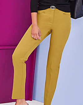 Ochre Everyday Kate Slim Leg Trousers