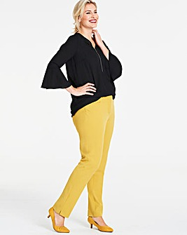Ochre Everyday Kate Slim Leg Trousers Regular