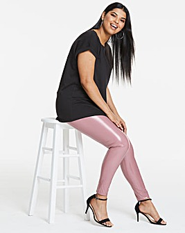 Simply Be Edited By Amber Vinyl Leggings