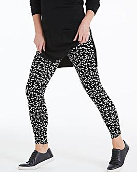 Spot Print Jersey Leggings