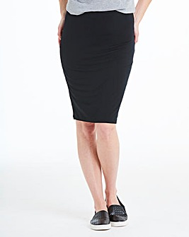 Stretch Jersey Mini Tube Skirt