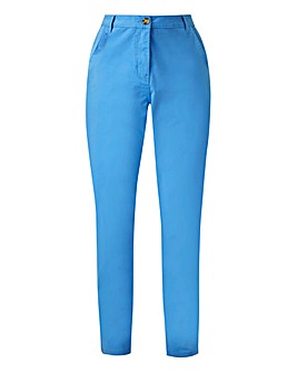 Petite Comfort Stretch Chino Trousers