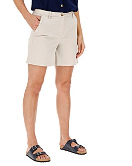 Comfort Stretch Turn up Chino Shorts