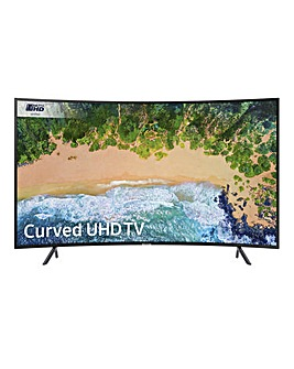 Samsung 49in NU7300 UHD Smart Curved TV