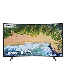 Samsung 49in UHD HDR Curved TV Install
