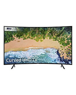 Samsung 65in 4K HDR Curved TV Install