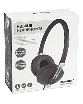 Intempo HubBub Headphones Grey