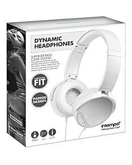 Intempo Dynamic Earphones White