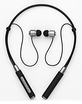 Intempo Neckband Earphones Black