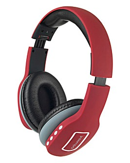 Intempo Melody Headphones Red
