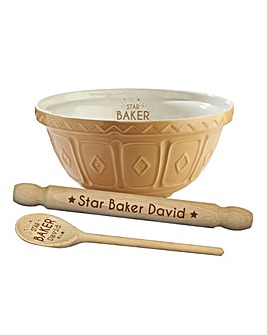 Personalised Star Baker Gift Set