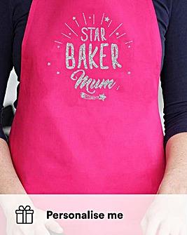 Personalised Star Baker Apron
