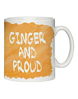 Personalised Ginger & Proud Mug