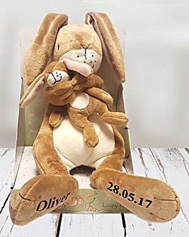 Personalised Guess How Much Lullaby Hare