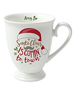 Personalised Santa Is Comin