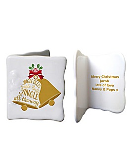 Personalised Jingle Bells Message Card