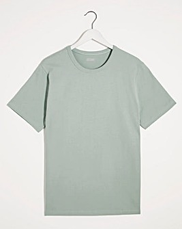 Heavyweight Bound Neck T-shirt Long