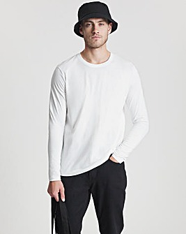 Long Sleeve Crew Neck T-Shirt Long