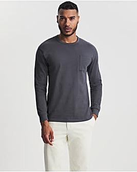 Heavy Drop Shoulder Pocket T-shirt L