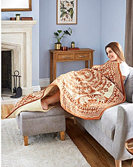 2 IN 1 QUILTED SOFA COMFORTER