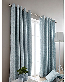 Cornella Woven Fern Blackout Curtains