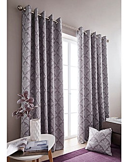 Cornella Woven Fern Blackout Curtains