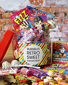 Personalised Retro Sweets Taster Jar