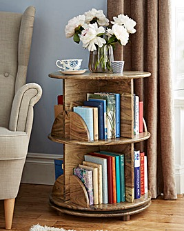 Solid Wood Swivel Bookstand
