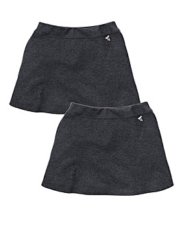 TKD Girls 2 Pack Ponti Skirt Generous (7-16 years)