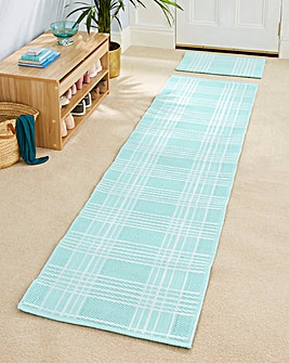 Hardwearing Check Doormat